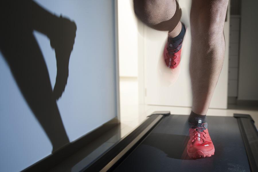 Cuidados de los pies del corredor